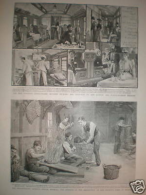 New Corridoor Dining trains LNWR prints 1893