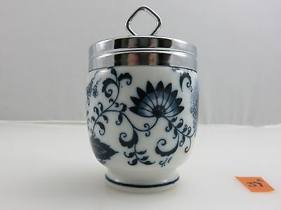 BLUE ONION King Double Egg Coddler Cup Vintage