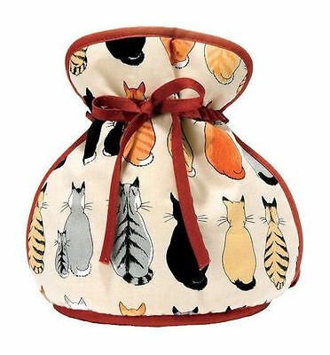 Cats In Waiting Muff Tea Cosy - Ulster Weavers
