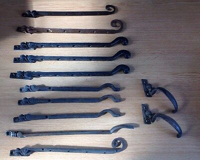 12 Vintage Salvage Reclaim Cast Window Stays Hardware One Looks Bronze Art Deco