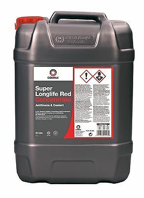 Comma 20L Super Long Life Anti-Freeze Red 20 Litre 5 Years Protection Sla20L