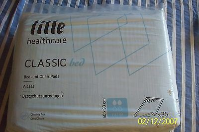 Lille Healthcare Classic Bed Extra Pad 60 x 90cm - Pack of 35