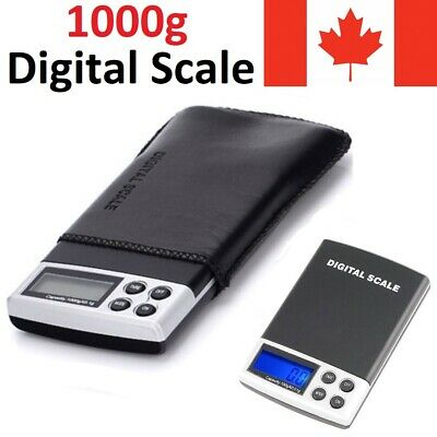 Digital Pocket Mini Scale 1000g/0.1g Jewelry Gold Silver Coin Gram Grain Herb