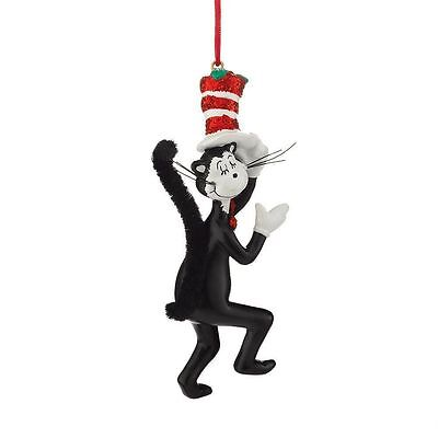 Dr Suess The Cat In The Hat Christmas Ornament by Department 56