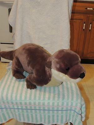 "WILD REPUBLIC Extra Very LARGE PLUSH River OTTER 29"" Long"