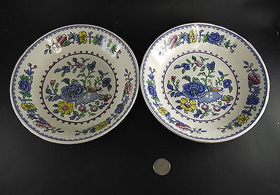 """2  7 3/4""""  Masons Regency Coupe Soup Bowls Or Cereal Bowls"""