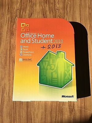 Microsoft Office Home And Student 2010 Family Pack Retail Version