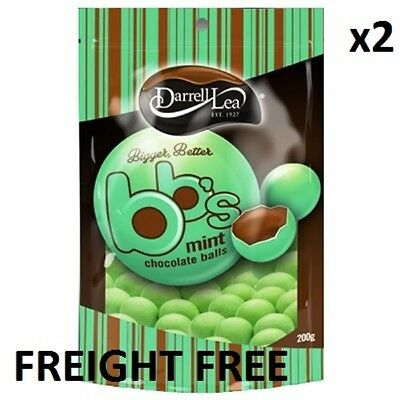 Darrell Lea BB's Mint 200g 2 PACK