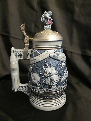 Vintage Stein Astronaut Moon Conquest Of Space 1991 - Gift for Space Enthusiast!