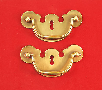 Per Pair - Chippendale Style Drawer Pull/Escutcheons #115-116 *MORE AVAILABLE*