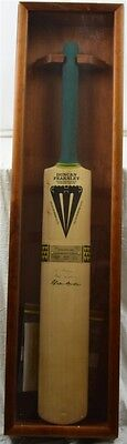 Duncan Fearnley Cricket Bat: Signed by Allan Border: Limited Edition: In Case