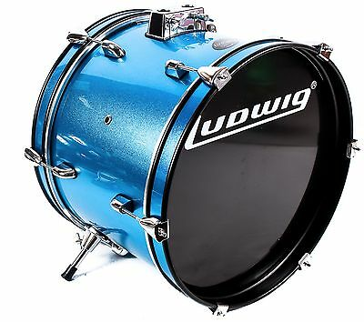 Ludwig Accent JR Kick Drum Blue 16 x 12 With kick Pedal
