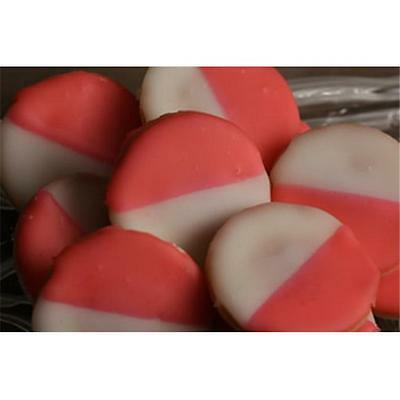 Greens Mini Pink & White Cookie Pack Of 3