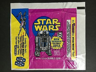 """STAR WARS"" R-2 D-2 WAX WRAPPER FROM 1970's"