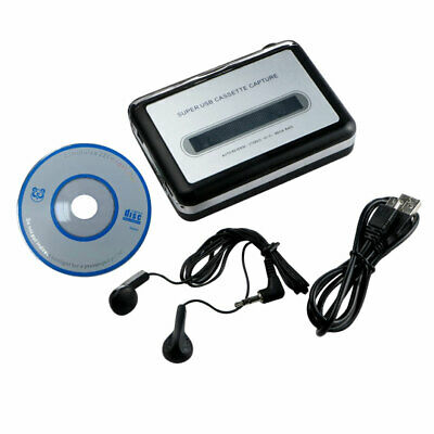 Portable Tape to Super Cassette Capture MP3 Player Converter With USB Cable Hot
