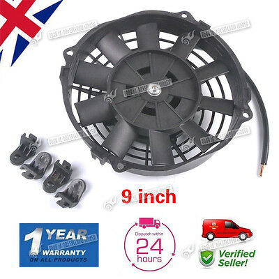 9'' 12V Universal Car Auto Radiator Intercooler Electric Push Pull Cooling Fan