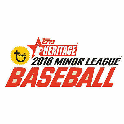 2016 Topps Heritage Minor League Baseball Complete Master Set 280 Cards