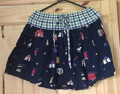 Monsoon Stunning Circus Summer Skirt Size 6-8 Years Great Condition