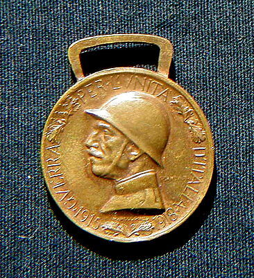 1915/18 Italy Military WWI bronze Medal