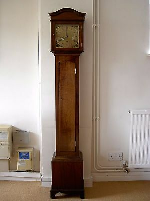 Exceptional Mahogany Chiming Grandmother Clock