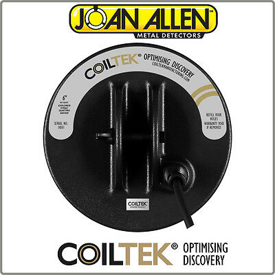 "New Coiltek 6"" FBS TreasureSeeker Coil Complete With Coil Cover"