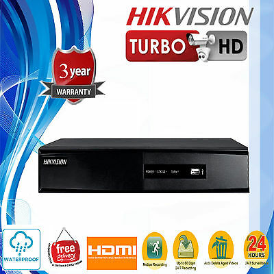 Hikvision 8CH Embedded Hybrid Up to 5 MP Resolution H.264 Digital Video Recorder