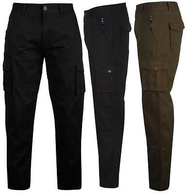 Pierre Cardin Cargo Trousers Mens Pants Casual ~All sizes 30- 40W