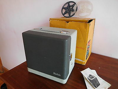 Vintage Boxed And Cased Kodak Brownie A-15G 8Mm Film Projector