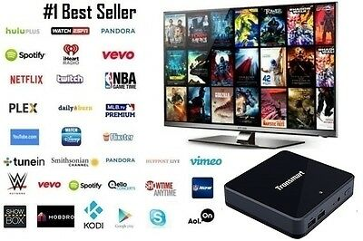 KODI(XBMC) MX Quad Core Android 4.4 TV Box Fully Loaded Free HD Sports Movies +