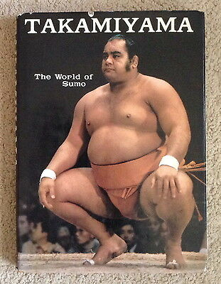 TAKAMIYAMA The World of SUMO ~FIRST Edition DJ 1973 book HAWAII's Jesse Kuhaulua