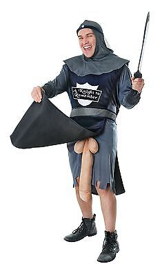 Mens A Knight To Remember Rude Medieval Fancy Dress Halloween Stag Night Costume