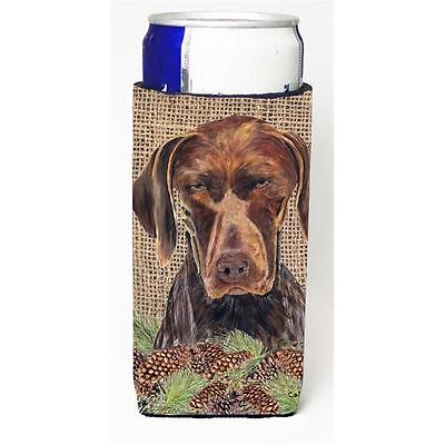 German Shorthaired Pointer Michelob Ultra bottle sleeves For Slim Cans 12 oz.