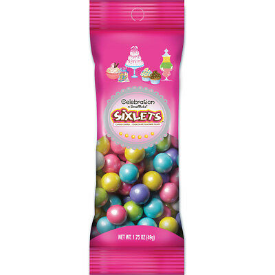 Celebrations By SweetWorks Sixlets(R) 1.75oz-Shimmer (TM) Spring Mix