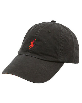 Ralph Lauren Polo Baseball Cap - Black - One Size