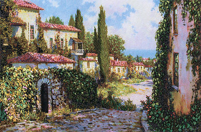 """Counted Cross Stitch Kit PANNA - """"City by the Sea"""""""
