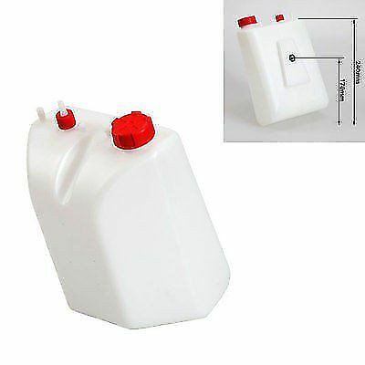Petrol / Fuel Tank 5 Litre Quick Release Type Red Caps Go Kart
