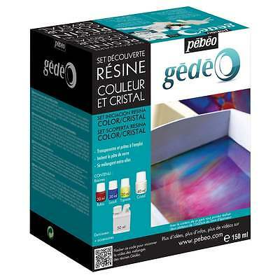Pebeo Discovery set Resin: Colour Crystal