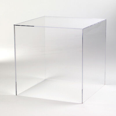 Multi-Purpose Display Cube with Mirror Back - Small