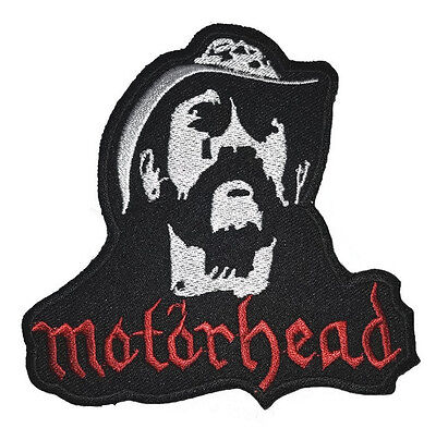 New Motorhead Music Rock Embroidered Symbol Logo Iron On Patch Shirt Po510