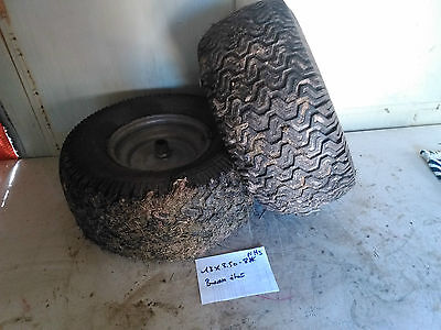 2 roue tracteur tondeuse 18 x 8.50-8 NHS ( AXE 19 MM )