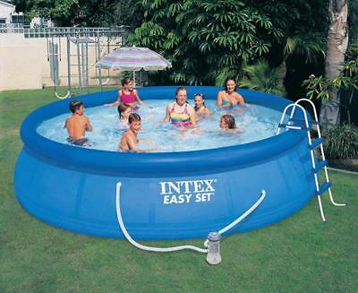 Piscine Hors-Sol Intex 28166 Easy Set Gonflable Ronde Swimming Pool 457x107 2016