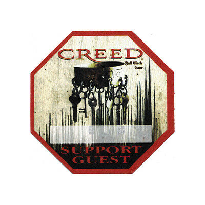 Creed Red Support Guest 2010 Backstage Pass