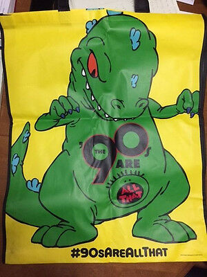 SDCC Comic Con 2014 EXCLUSIVE Rugrats REPTAR The 90's Are All That Promo Bag New