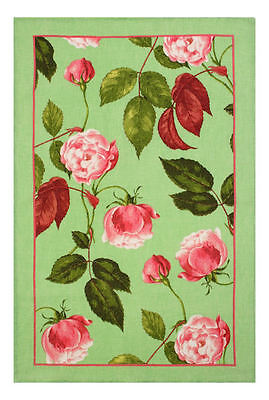 RHS Rosa Chinensis Ulster Weavers Linen Tea Towel - flowers, floral