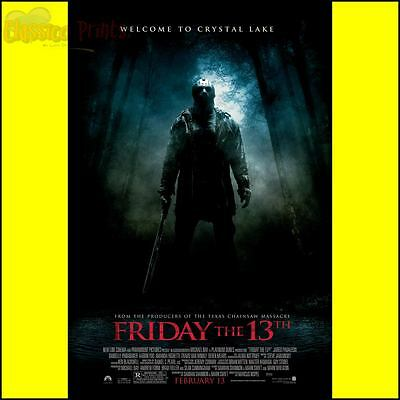 Friday The 13th Movie Poster / Photo All Sizes Repro : #UC1401