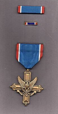 Boxed Full Size Genuine Usa Army Cross Medal