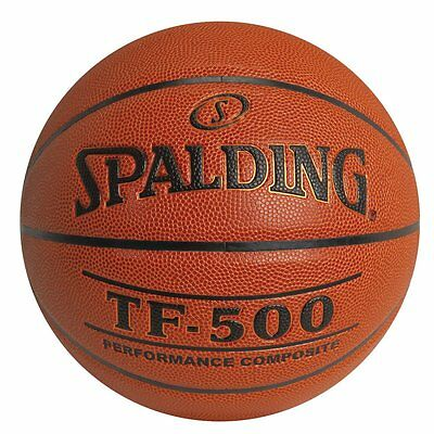 "SPALDING TF-500 Composite Wide Channel Basketball Men's Official Size 29.5"" NEW"