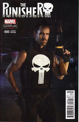 Punisher #6 1/15 Cosplay Variant Cover Marvel Comics