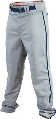 "Rawlings PRO150P Plated 1/8"" Piped BaseballPant All Sizes & Colors"