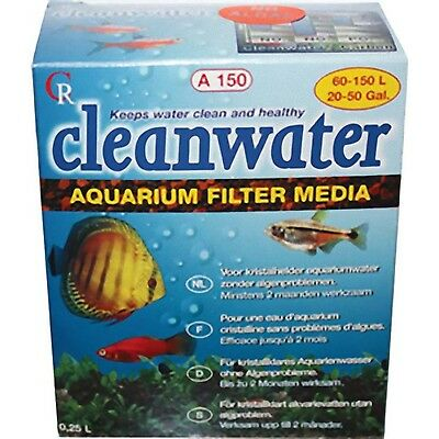 Cleanwater A150 Aquarium Fish Tank Filter Media Algae Clean Water